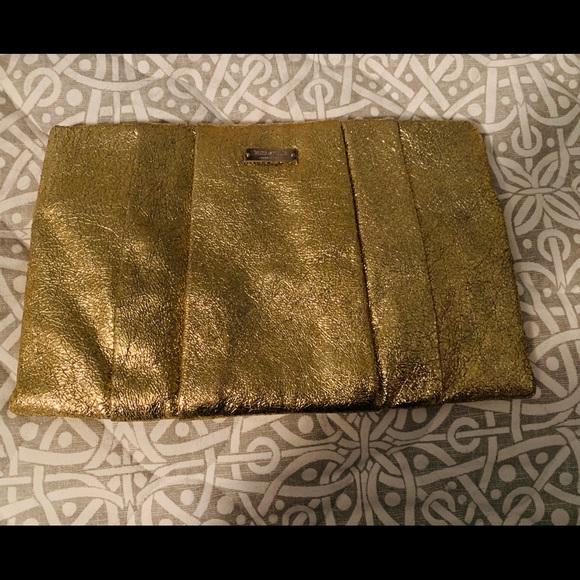 kate spade Handbags - Kate Spade Gold Clutch